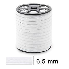 Elastico zanotti juiz 7 branco - 6,5 mm c/ 100 mts