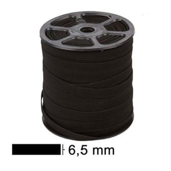 Elastico zanotti juiz 7 preto - 6,5 mm c/ 100 mts