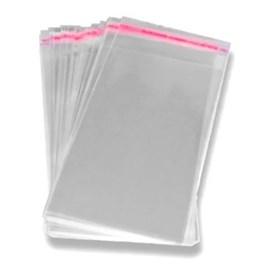 Embalagem p/ laço - aprox. 21 x 10 cm c/ 100 unds