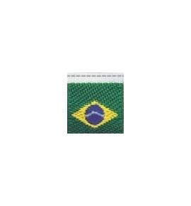 Etiq.bordada brasil 18495 c/ 10 unds