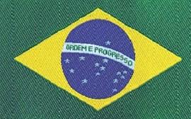 Etiq.bordada brasil 22051 c/ 10 unds