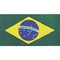 Etiqueta bordada  brasil 22059 tam: 2,00cm x 5,00cm pacote com 10 unid