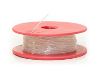 Fio de silicone 0,6 mm  100mts.