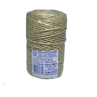 Fio de sisal 300/1 c/ 78 mts