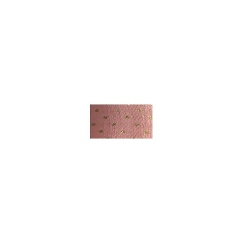 Fita cetim estampada gitex poa 1550/9   38 mm c/ 10 mts