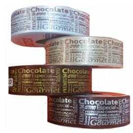 Fita chocolate ref.1550/9 - 38 mm c/ 10 mts