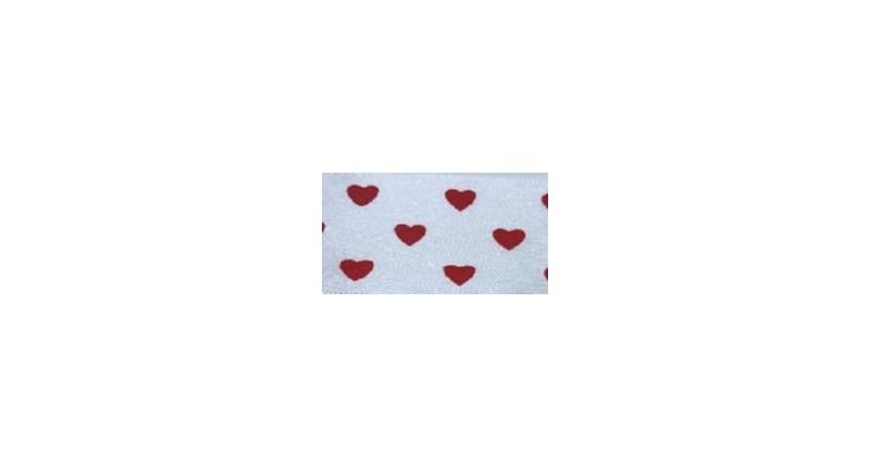 Fita de cetim coracao ref.261500 - 4 cm c/ 10 mts