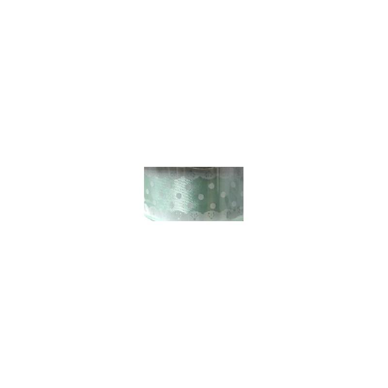 Fita de cetim estampada melaço 251403 renda   2.5 cm c/ 10 mts