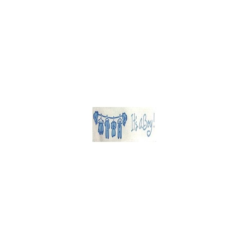 Fita de cetim estampada melaço bebe 231040   1.5 cm c/ 10 mts