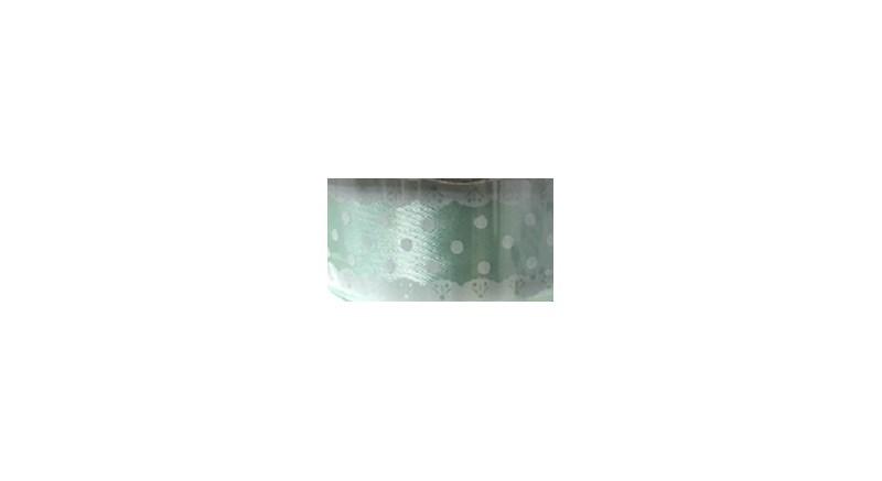 Fita de cetim ref.251403 renda -2.5 cm c/ 10 mts