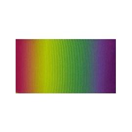 Fita de gorg. estampada - 4,0 cm c/ 10 mts