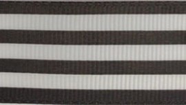Fita de gorgurao chevron ref.152100 - 2.5cm c/10 mts