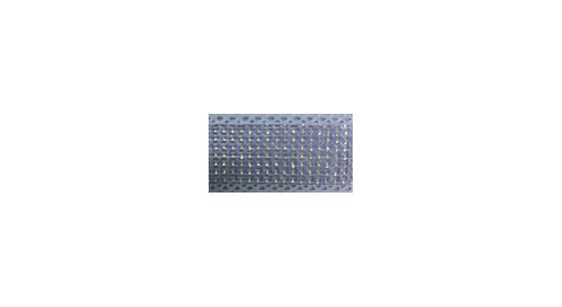Fita de juta metalizada ref.351200 - 2,5cm c/ 10 mts