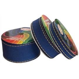 Fita decorativa jeans 1785/38  sinimbu 38 mm c/ 10 mts