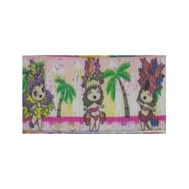 Fita decorativa ref. 4659/9 - 38 mm c/ 10 mts - carnaval
