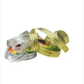 Fita  decorativa ref. 9923 - 16 mm c/ 10 mts 01-prata