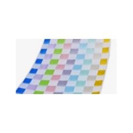 Fita decorativa xadrez  1789/22  sinimbu 22 mm c/ 10 mts