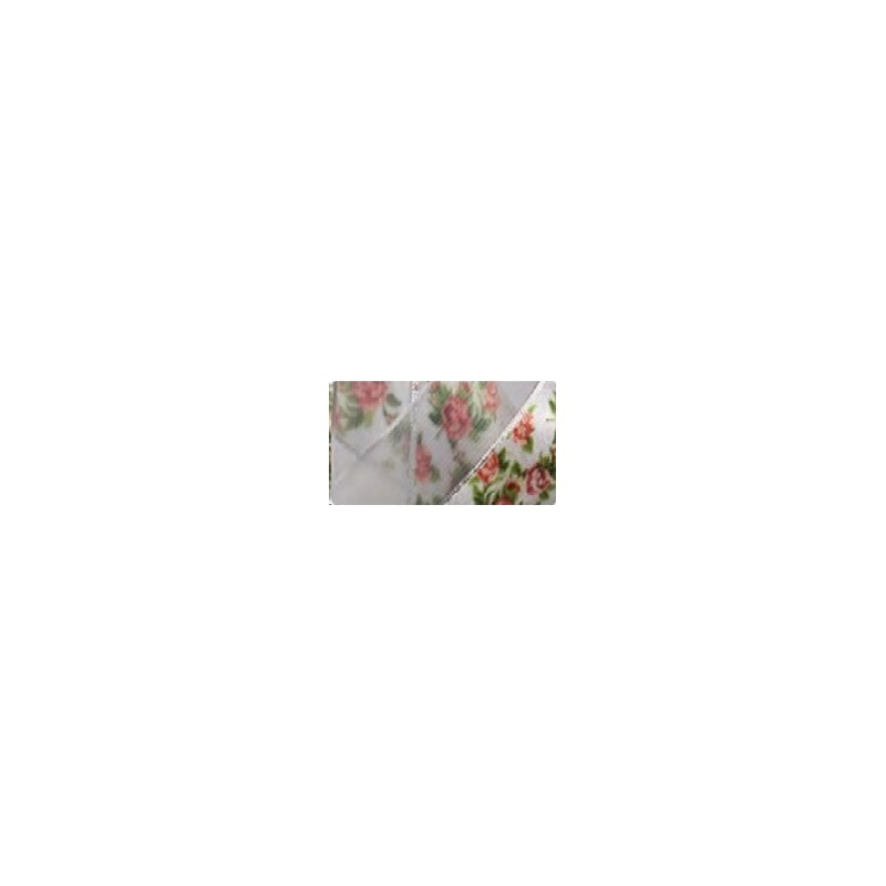 Fita  voil/cetim estampada gitex  5000/5  23 mm   c/ 10 mts