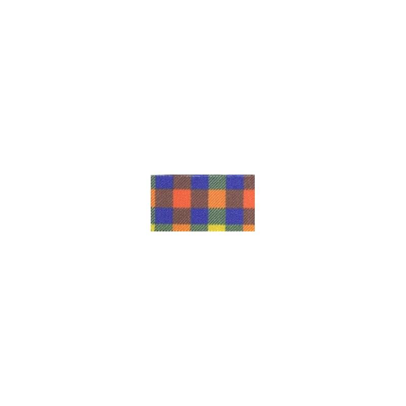 Fita xadrez/tafeta gitex  6130/9    38 mm c/ 10 mts