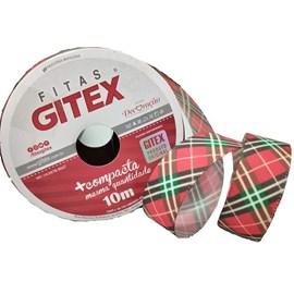 Fita xadrez/tafeta gitex  7800/5    22 mm c/ 10 mts