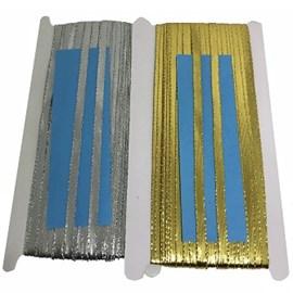 Fitilho metalizado 8 mm  c/ 50 mts