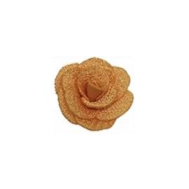 Flor de tecido - aprox. 2 cm c/ 6 unds