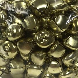 Guizo dourado bazar  18 mm c/ 100 und