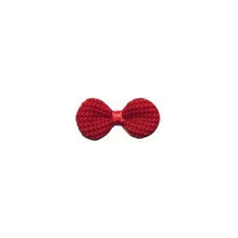 Laco de linha crochet ref.900117- 3 x 5.5 c/ 50  unds