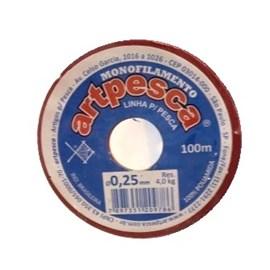 Linha artpesca diametro: 0,25 mm c/ 100 mts