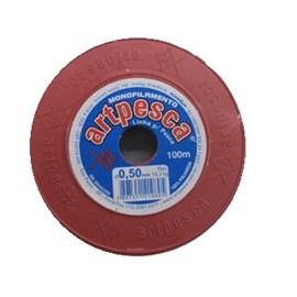 Linha artpesca  diametro: 0,50 mm  rl c/ 100 mts