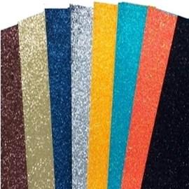 Lonita glitter flocado aprox. 25 x 35 cm