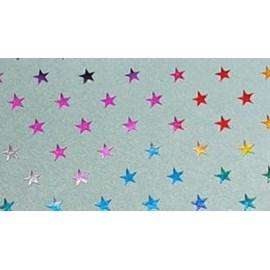 Lonita incolor  estrela dourada ref. 150533 - aprox. 24 x 40 cm