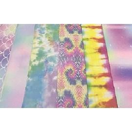 Lonita tie dye -peça c/  aprox. 24 x 38 cm