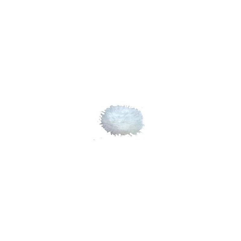 meio pom pom roma ref. 115119- aprox. 2,5 cm c/ 10 unds
