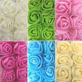 Mini flor rosa eva mf 002 c/ 144 und