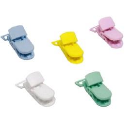 Prendedor infantil 15 x 38 mm - cores sortidas  c/ 5 unds