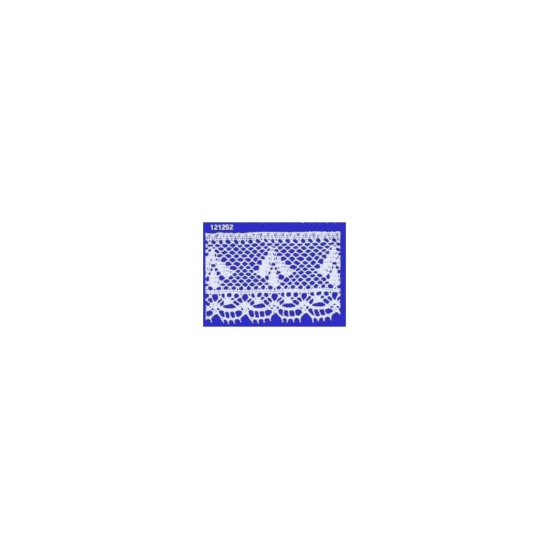 Renda algodao 121252 larg 5.70 cm pç c/ 20 mts
