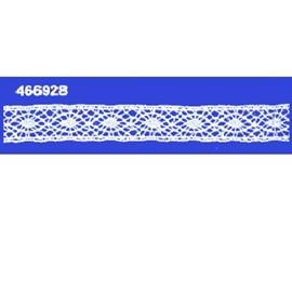 Renda algodao 466928 larg 1,10 cm pç c/ 20 mts