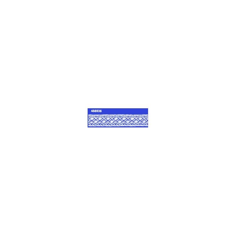Renda algodao 466936 larg 1,70cm pç c/ 20 mts