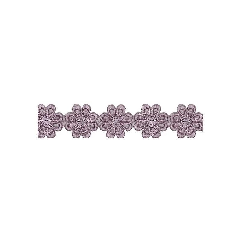 Renda guipir chl-207 - 2,5 cm x  c/ 13.7 mts