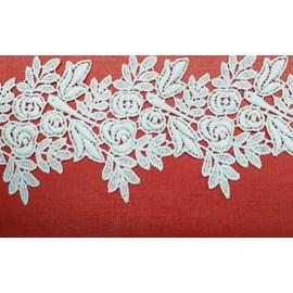 Renda guipure algodão rgpe 1515 - 8,2cm c/ 13,70mts