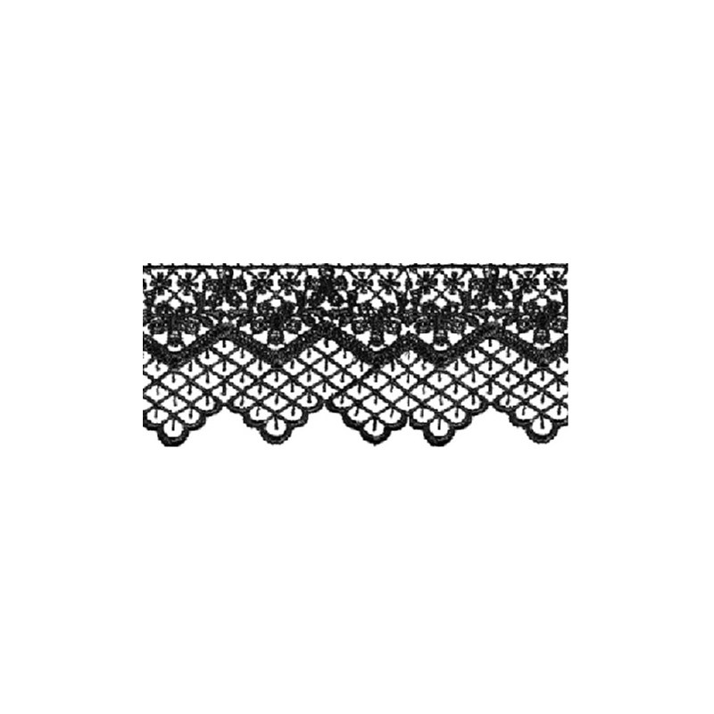Renda guipure ref. 52.326 - 5.5 cm - c/ 13.7 mts