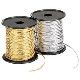 Soutache  metalizado 500/04 larg.: 1,8mm c/ 50 mts