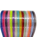 Tiara acrilica gliter 1 cm  c/ 6 unds