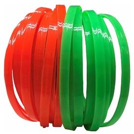 Tiara acrilica neon c/ 6 unds